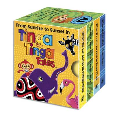 Tinga Tinga Tales: From Sunrise to Sunset in Tinga Tinga: Little Library - Tinga Tinga Tales (Board book)