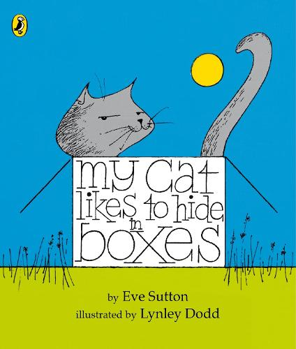 My Cat Likes to hide in Boxes (Board book)