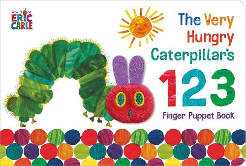 The Very Hungry Caterpillar Finger Puppet Book - The Very Hungry Caterpillar (Board book)