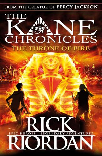 The Throne of Fire (The Kane Chronicles Book 2) - The Kane Chronicles (Paperback)