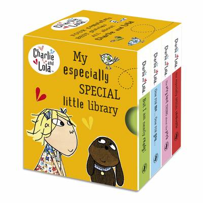 Charlie and Lola: My Especially Special Little Library - Charlie and Lola (Board book)