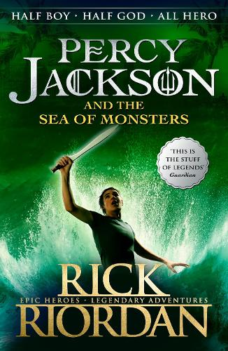 Percy Jackson and the Sea of Monsters (Book 2) - Percy Jackson (Paperback)