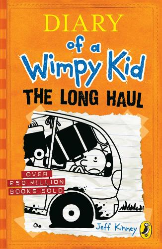 Diary of a wimpy kid the getaway by jeff kinney waterstones the long haul diary of a wimpy kid book 9 solutioingenieria Image collections