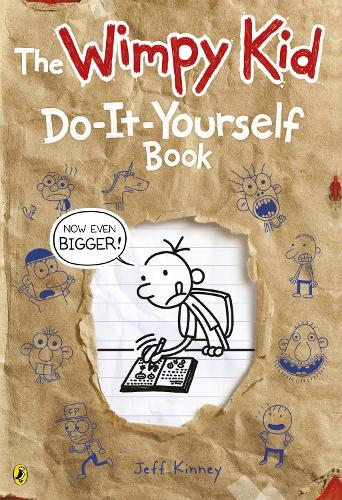 Diary of a Wimpy Kid: Do-It-Yourself Book *NEW large format* - Diary of a Wimpy Kid (Paperback)