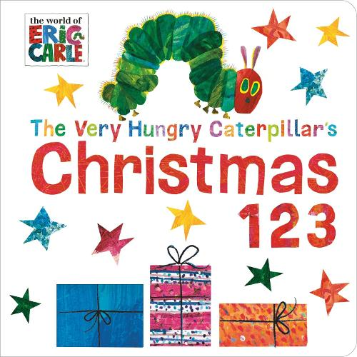 Very Hungry Caterpillar's Christmas 123 (Board book)
