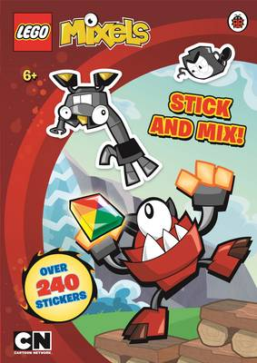 LEGO Mixels: Stick and Mix Sticker Activity Book - LEGO Mixels (Paperback)
