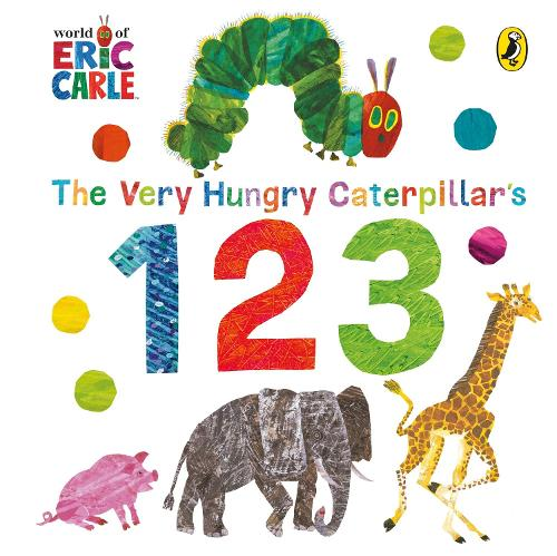 The Very Hungry Caterpillar's 123 (Board book)