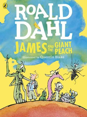 James and the Giant Peach (Colour Edition) (Paperback)