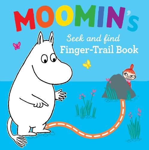 Moomin's Seek and Find Finger-Trail book - Moomin (Board book)