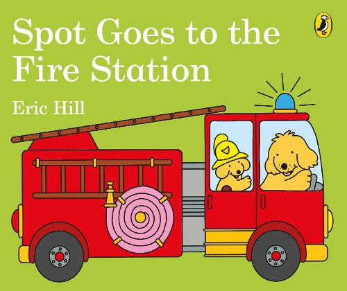 Spot Goes to the Fire Station (Board book)