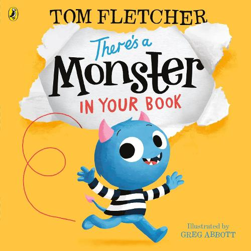 There's a Monster in Your Book (Paperback)