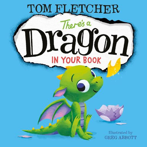 There's a Dragon in Your Book (Hardback)