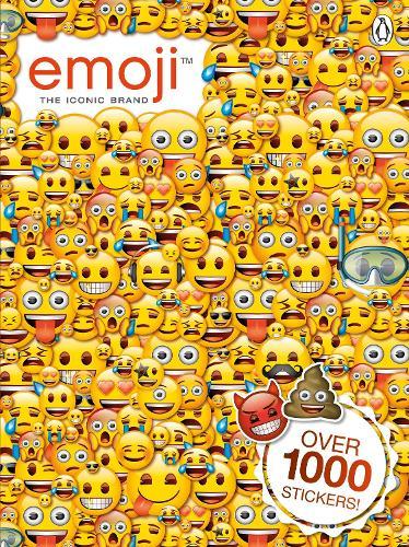 Emoji: Official Sticker Book (Paperback)