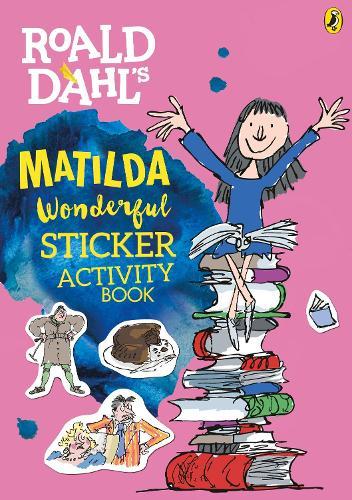 Roald dahls matilda wonderful sticker activity book waterstones roald dahls matilda wonderful sticker activity book roald dahl paperback fandeluxe Choice Image