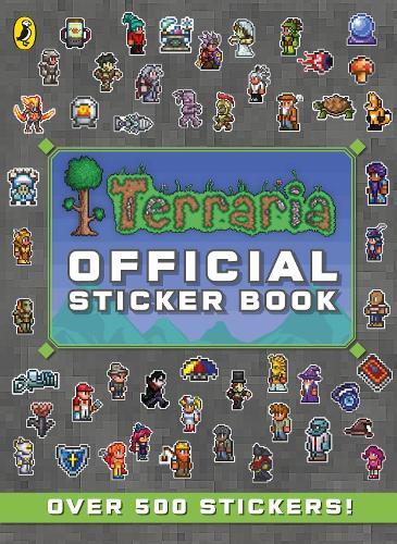 Terraria: Official Sticker Book - Terraria (Paperback)