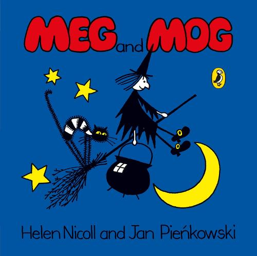 Cover of the book, Meg and Mog.