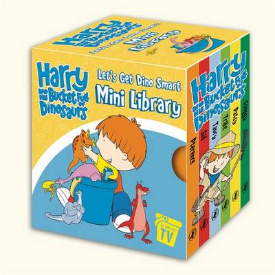 Harry And His Bucketfull Of Dinosaurs: Let's Get Dino SmartMini Library (Paperback)