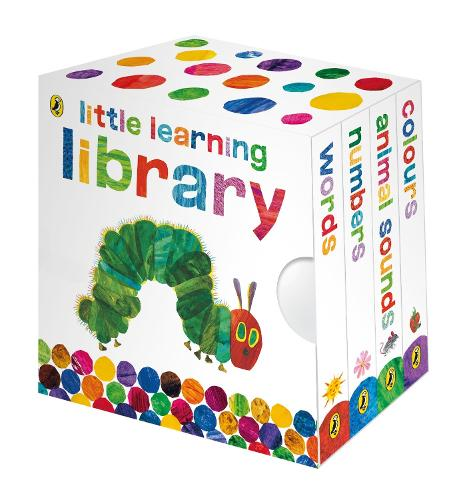The Very Hungry Caterpillar: Little Learning Library - The Very Hungry Caterpillar (Board book)