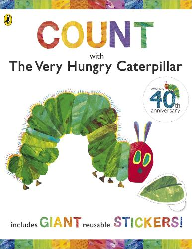 Count with the Very Hungry Caterpillar (Sticker Book) - The Very Hungry Caterpillar (Spiral bound)
