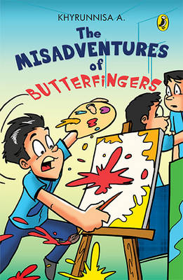 The Misadventures of Butterfingers (Paperback)