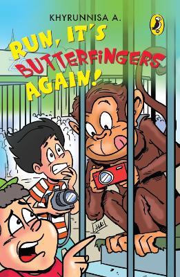 Run, It's Butterfingers Again! (Paperback)