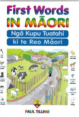 First Words In Maori (Paperback)