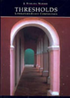 Thresholds Literature-Bas Comp (Paperback)