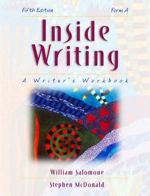 Inside Writing: Form A: A Writer's Workbook (Paperback)