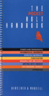 Pocket Holt Handbook (Paperback)
