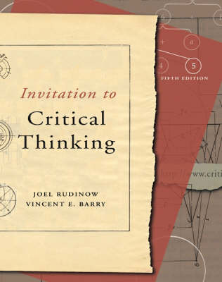 Invitation to Critical Thinking (Paperback)