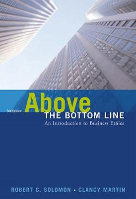 Above the Bottom Line (Hardback)