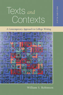 Texts and Contexts (Paperback)