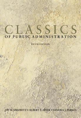 Classics Publ Admin 5e (Paperback)
