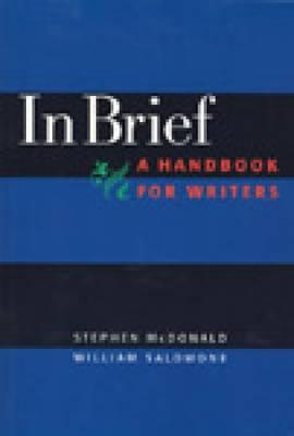In Brief, a Handbook for Developmental Writers (Paperback)