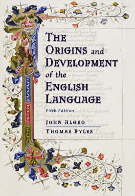 Origins and Development of the English Language (Hardback)
