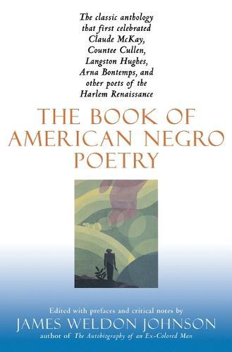 Book of American Negro Poetry (Paperback)