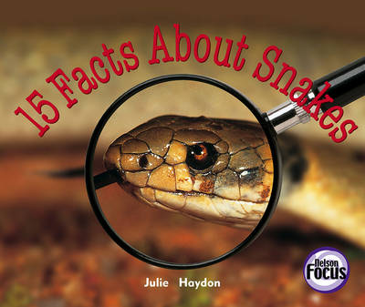 15 Facts About Snakes (Paperback)