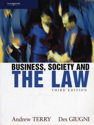 Business, Society and the Law (Paperback)