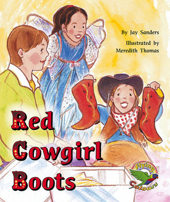 Red Cowgirl Boots (Paperback)