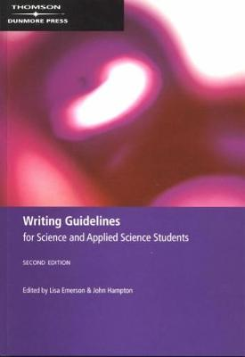 Writing Guidelines for Science and Applied Science Students (Paperback)