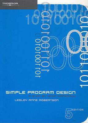 Simple Program Design (Paperback)