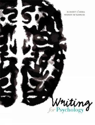 Writing for Psychology (Spiral bound)