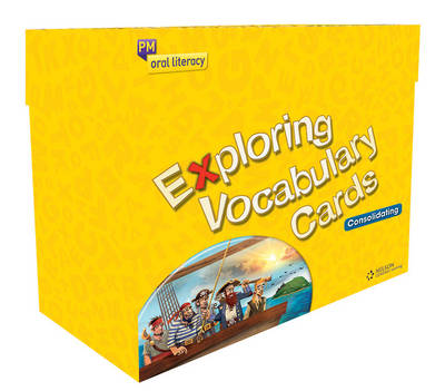 PM Exploring Vocabulary Consolidating Cards Box Set + IWB DVD
