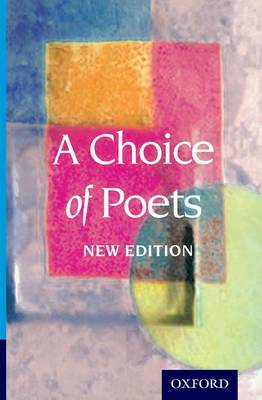 A Choice of Poets (Paperback)