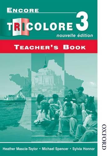 Encore Tricolore Nouvelle 3 Teacher's Book (Paperback)