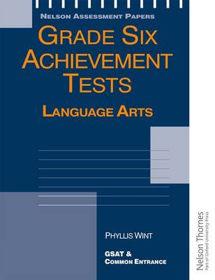 Grade Six Achievement Tests Language Arts (Spiral bound)