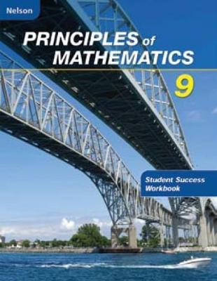 Nelson Principles of Mathematics 9: Student Success Workbook (Paperback)
