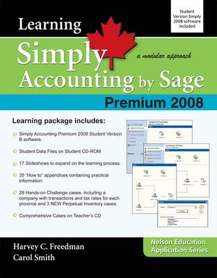 Learning Simply Accounting by Sage Premium 2008 (Paperback)