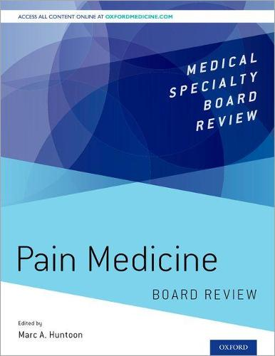 Pain Medicine Board Review - Medical Specialty Board Review (Paperback)