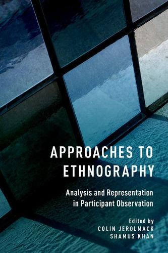 Approaches to Ethnography: Analysis and Representation in Participant Observation (Paperback)